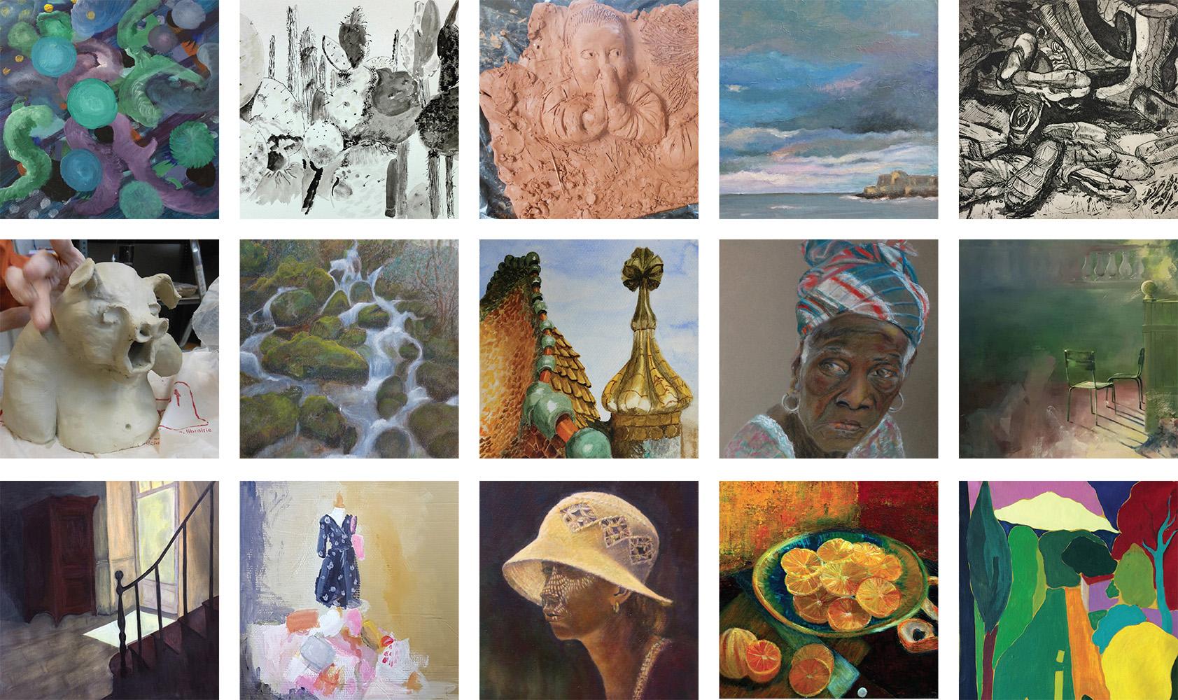 sbac atelier cours dessin,peinture,gravure,sculpture,Clamart