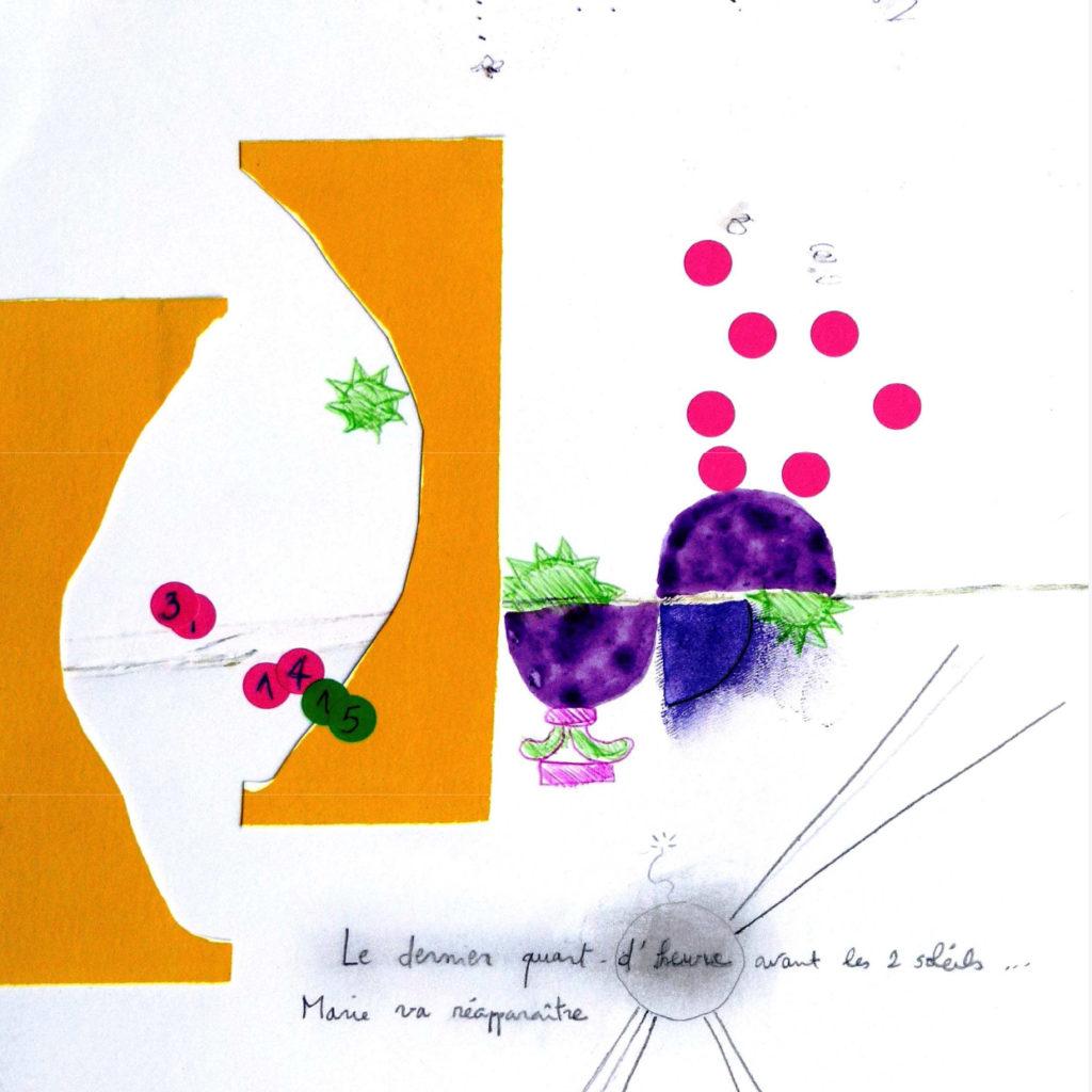 annonce pour l'exposition artistes dessin illustration jean-diégo Membrive