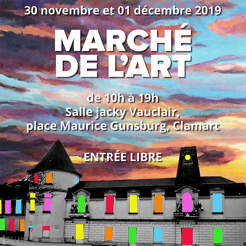 marché de l'art 2019 mairie carré