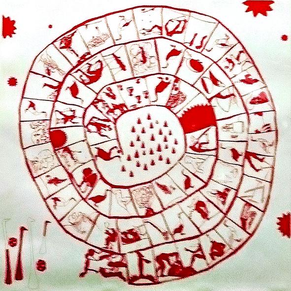 Jean-diego Membrive professeur de dessin à la sbac eu musee permanent de la carte à jouer à issy les moulineaux