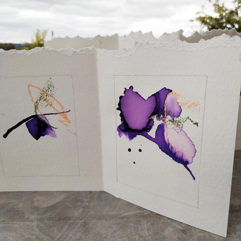 stage de dessin, peinture, expression libre, organisé par Jean-Diego dans le Gers ete juillet 2020